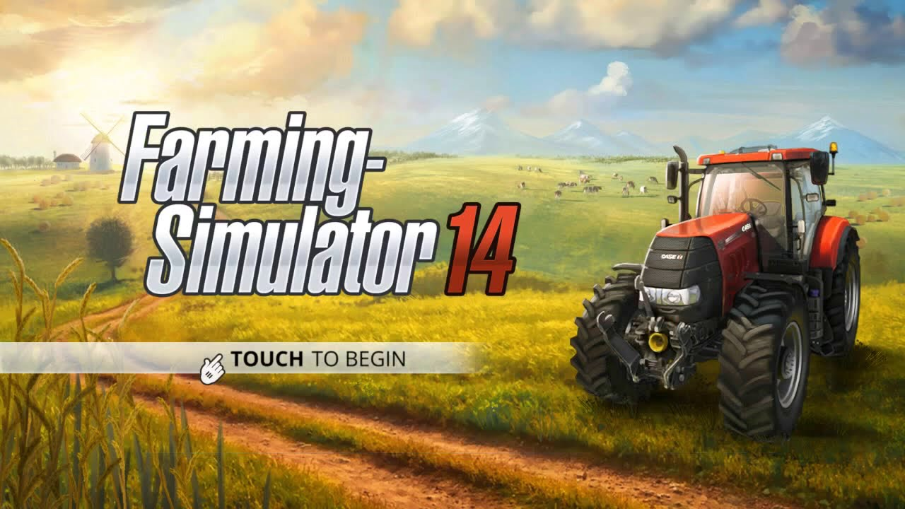 Farming Simulator 14- #2 Making Bales