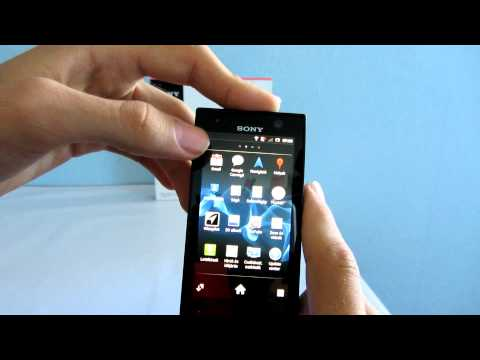 Sony Xperia U ST25i Android bemutató videó - mobilxTV