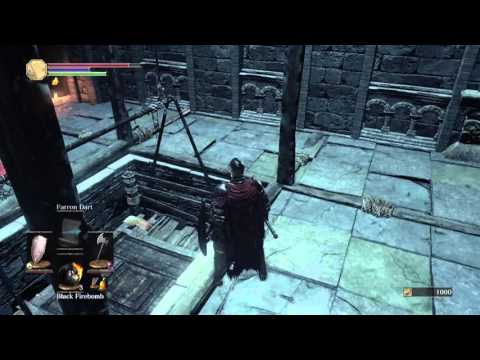 Church Tower Elevator How To Go Up And Down Dark Souls 3