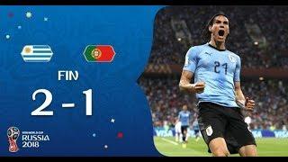 Uruguay vs Portugal 2 1 Résumé et buts Russie 2018 HD