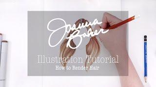 Joanna Baker Illustration - How to Render Hair