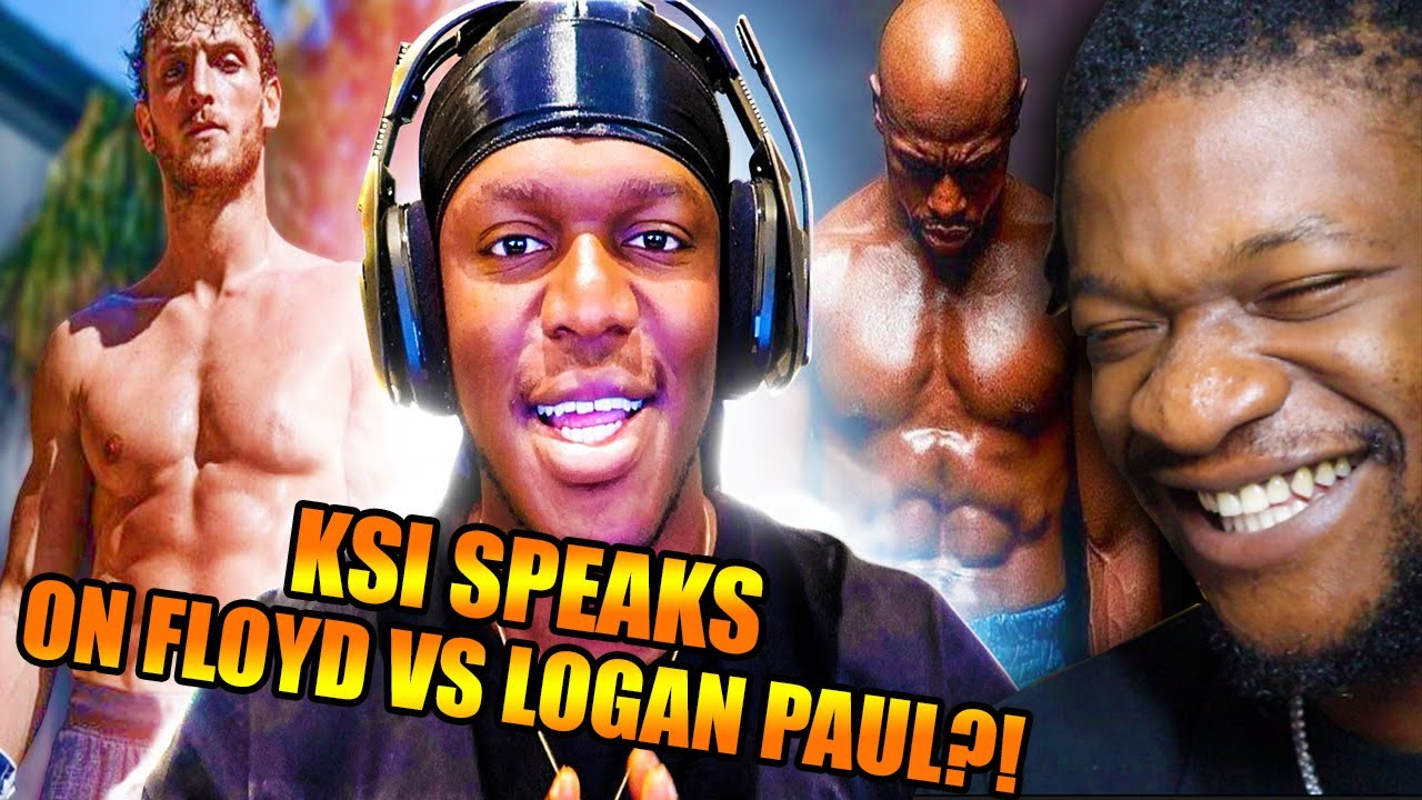 KSI Thoughts On Floyd Mayweather Vs Logan Paul (REACTION)