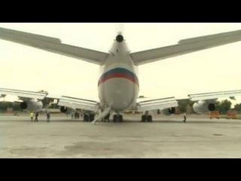 Самолет Путина -