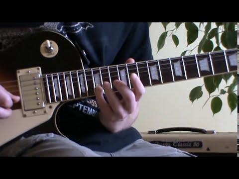 Carlos Santana Moonflower guitar lesson + TAB (Flor'Dluna)