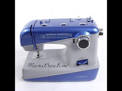 Super Macchina da cucire Silver Crest by Lidl - YouTube IJ25