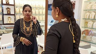 Gold Jewellery Live   Bridal Jewellery Fest At Lowest wastage Antique Collection   Lachus Lifestyle