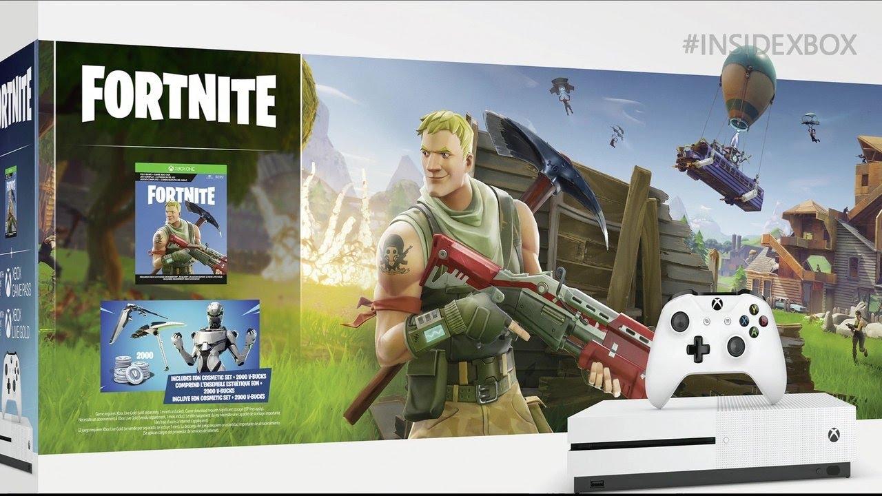 Fortnite Xbox One S Bundle Revealed - YouTube