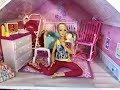 Barbie BABY cries! Barbie can't SLEEP!!!