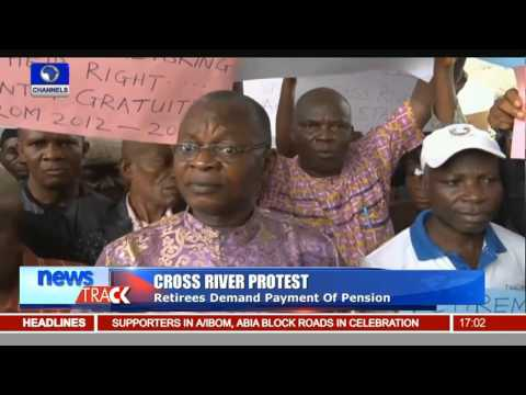Cross River Retirees Demand Payment Of Pension