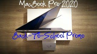MacBook pro 13 2020 Baseline Unboxing - Apple Back To School promo - Base Model + Airpods