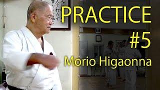 Morio Higaonna's Karate practice #5    KOTE-KITAE&TAIATARI   東恩納盛夫先生の鍛錬その5
