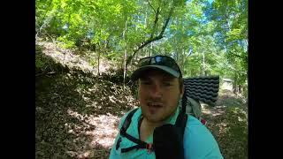 Pinhoti Trail thru-hike Day 1 2019