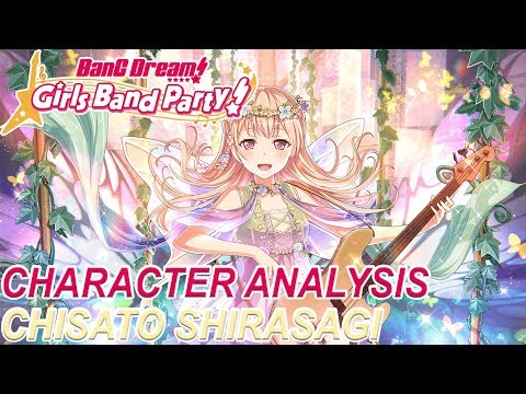BanG Dream! Girls Band Party! Character Analysis - Chisato Shirasagi