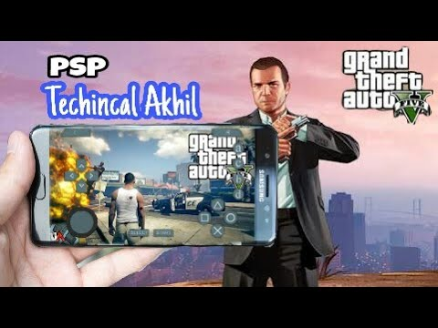 PSP GTA V how to download Android ISO phone