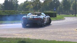 Jaguar F-Type Project 7 | BRUTAL Revs, Drifting, Burnout & Acceleration Sound