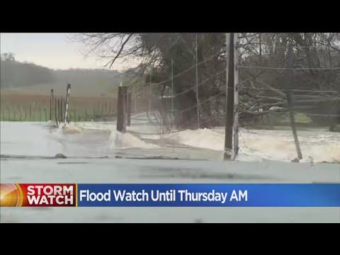 Sacramento On Flood Watch Until Thursday Morning