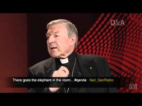 Cardinal Pell bags gays