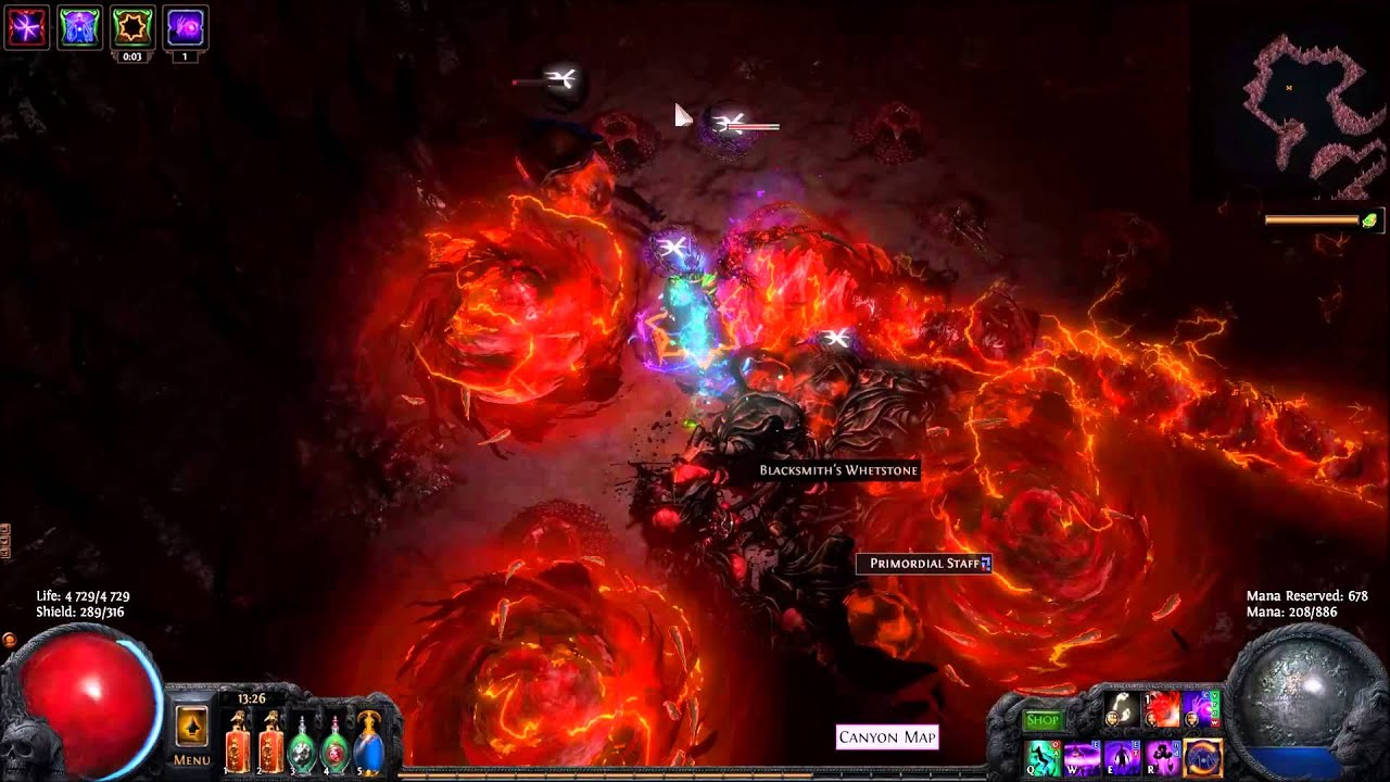 path of exile 2 1 chaos poison witch bino s kitchen knife