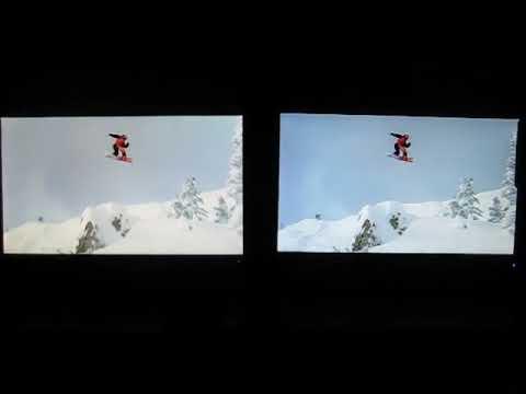 Samsung SyncMaster S23A700D vs. ASUS VG236HE Comparison (2D, 120Hz, BluRays)