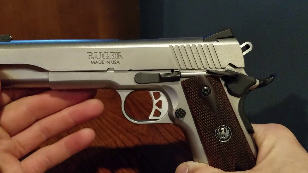 Ruger SR1911. Review