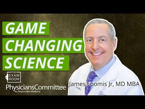 Vegan Diets For Athletes With Jim Loomis, MD