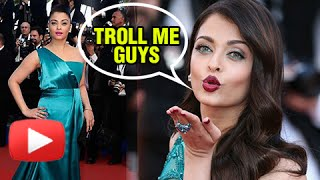 Aishwarya Rai Open Challenge To Fans - Fashion At Cannes 2016
