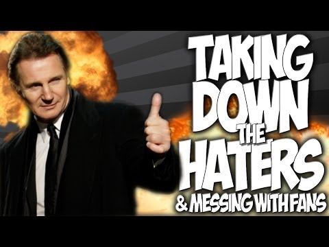 COD GHOSTS: TAKING DOWN THE HATERS!! & MESSING WITH FANS!! \