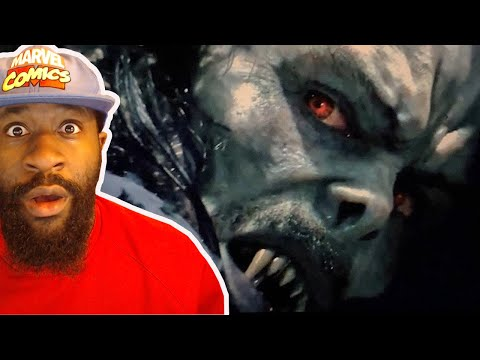 Morbius Trailer Reaction: More Recycled Actors.. But Looks Solid.