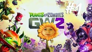 Plants vs. Zombies Garden Warfare 2 прохождение на русском Мультик о зомби РАСТЕНИЯ против ЗОМБИ
