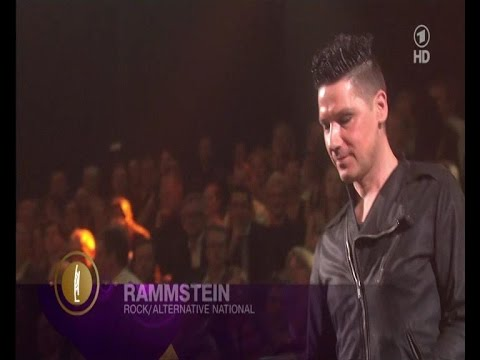 Awarding of Rammstein - Echo Awards, Palais Am Funkturm, Berlin, Germany (22.03.2012)