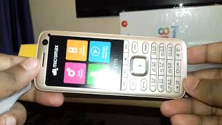 Micromax x771 mobile unboxing