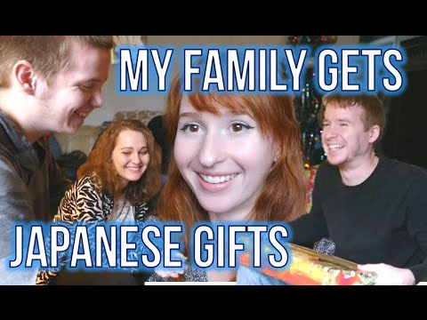 I got Japanese presents for my family! ★