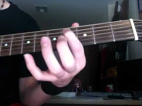 How to play Till I Collapse by Eminem on Guitar