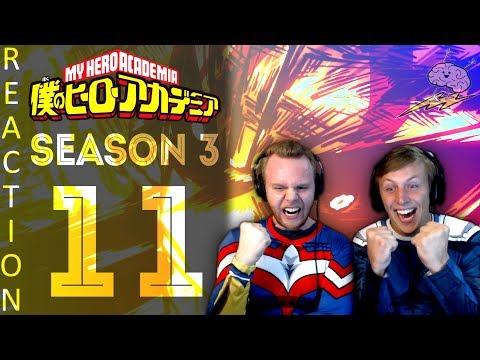 SOS Bros React - My Hero Academia Season 3 Episode 11 - UNITED STATES OF SMASH!!