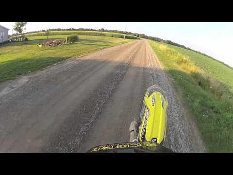 My Rockstar energy One Industries Suzuki RMZ 450 Wheelie
