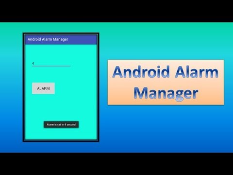 Android Alarm Manager,#81