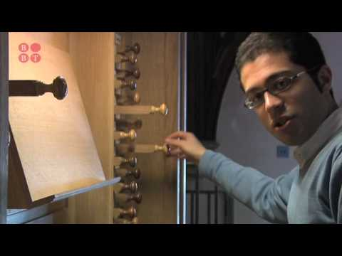 Mahan Esfahani's tour of the organ at St John's College, Oxford