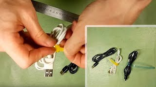 Cable ties from plastic bottle | Cable Holder | Second Life Of A Plastic Bottle | DIY thumbnail