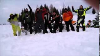 Покатушки в Бодью экстрим  снегоходы