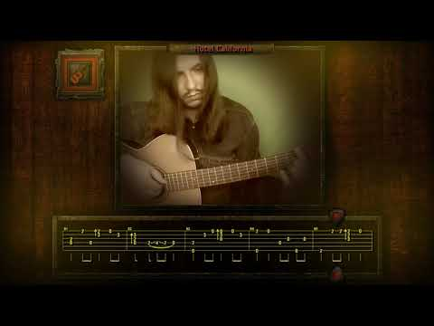 Eagles - Hotel California Fingerstyle Cover With TABs