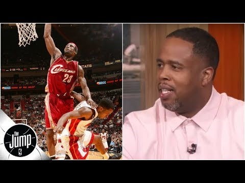 'I Got Offensive Fouled!' - Damon Jones On LeBron's Poster Dunk | What Were You Thinking? | The Jump