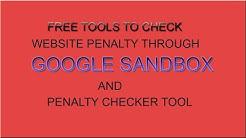 Google Sandbox Checker Tool - Free online Penalty Recovery Tool