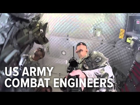 Combat Engineers have one of the hardest jobs in the Army - YouTube
