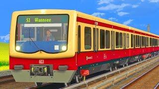 TRAIN SIMULATOR 2019 - Berliner S-Bahn   Stadtbahn Berlin zum Messegelände   BR 481 S-Bahn Berlin