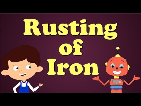 Rusting Of Iron | #aumsum #kids #science #education #children