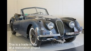 Jaguar XK120 DHC 1954 -VIDEO- www.ERclassics.com