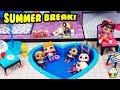 LOL Summer Break Mcdonalds Pool Party Leather Loses His Money