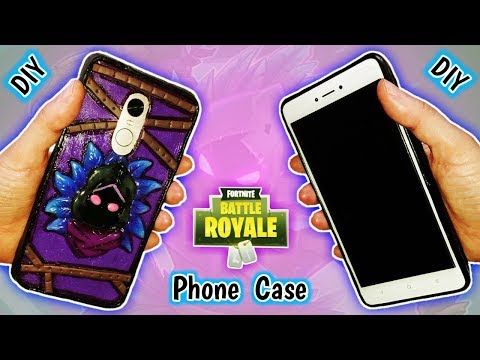 PHONE CASE | RAVEN | FORTNITE | DIY | Polymer Clay Tutorial