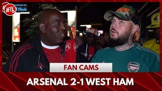 Arsenal 2-1 West Ham | An Ugly Ugly Win! (DT)