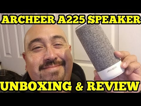 ARCHEER A225 UNBOXING & REVIEW (2017) | BEST BLUETOOTH SPEAKER UNDER $30